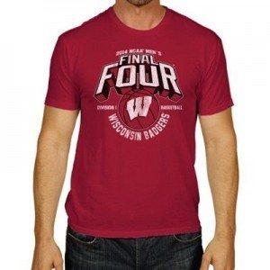 Wisconsin Badgers T Shirt Hoody Jersey 2x 3x 4x 5x