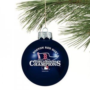 Red Sox Inexpensive Gifts, World Series DVD, Ornaments, Champs Apparel