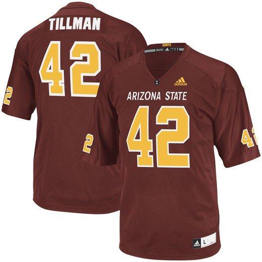 reputable site a846b 5dab7 Pat Tillman, Arizona St Tribute Jersey, PT-42 - Where To Buy