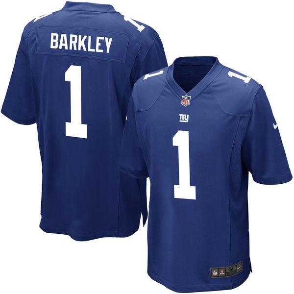 a215a5daa Saquon Barkley Jerseys (Giants) S-3X 4X 5X 6X XLT 2XT 3XT 4XT 5XT