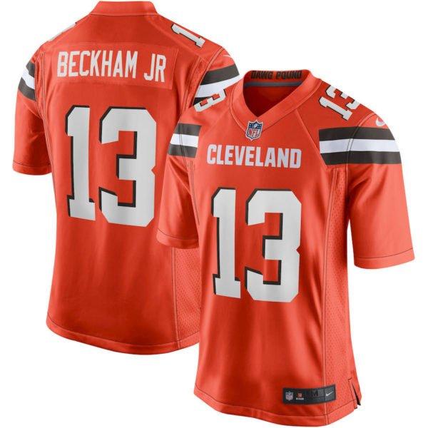 brand new 91a87 c759a Odell Beckham Jersey Cleveland Browns S-3XL, 4XL, 5XL, 6XL ...